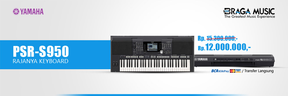 PSR-S950 PROMO